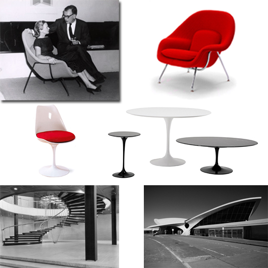 2_e and a saarinen_designer couples